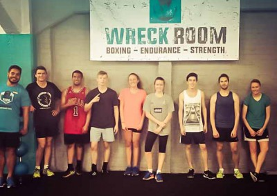 Wreck Room Auckland Boxing Family