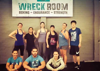 The boys and girls of Wreck Room