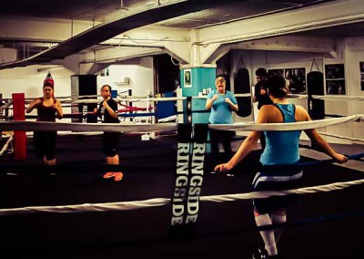 Boxing introduction class