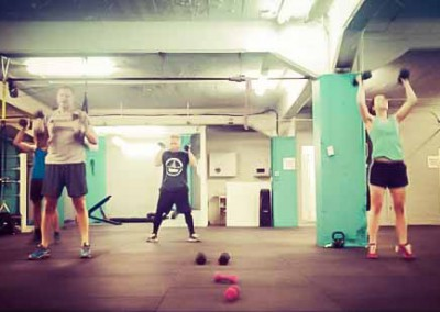 Wreck Room Auckland Boxing Fitness Class