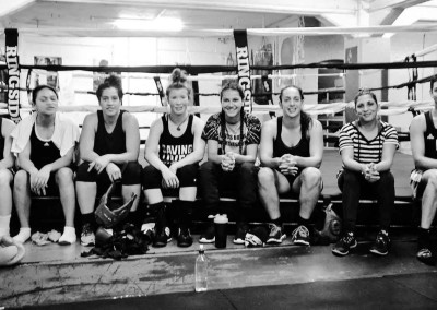 Wreck Room Auckland Girls Boxing