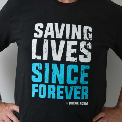 saving lives tee